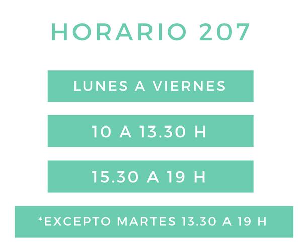 horario clinica dental castellana 207