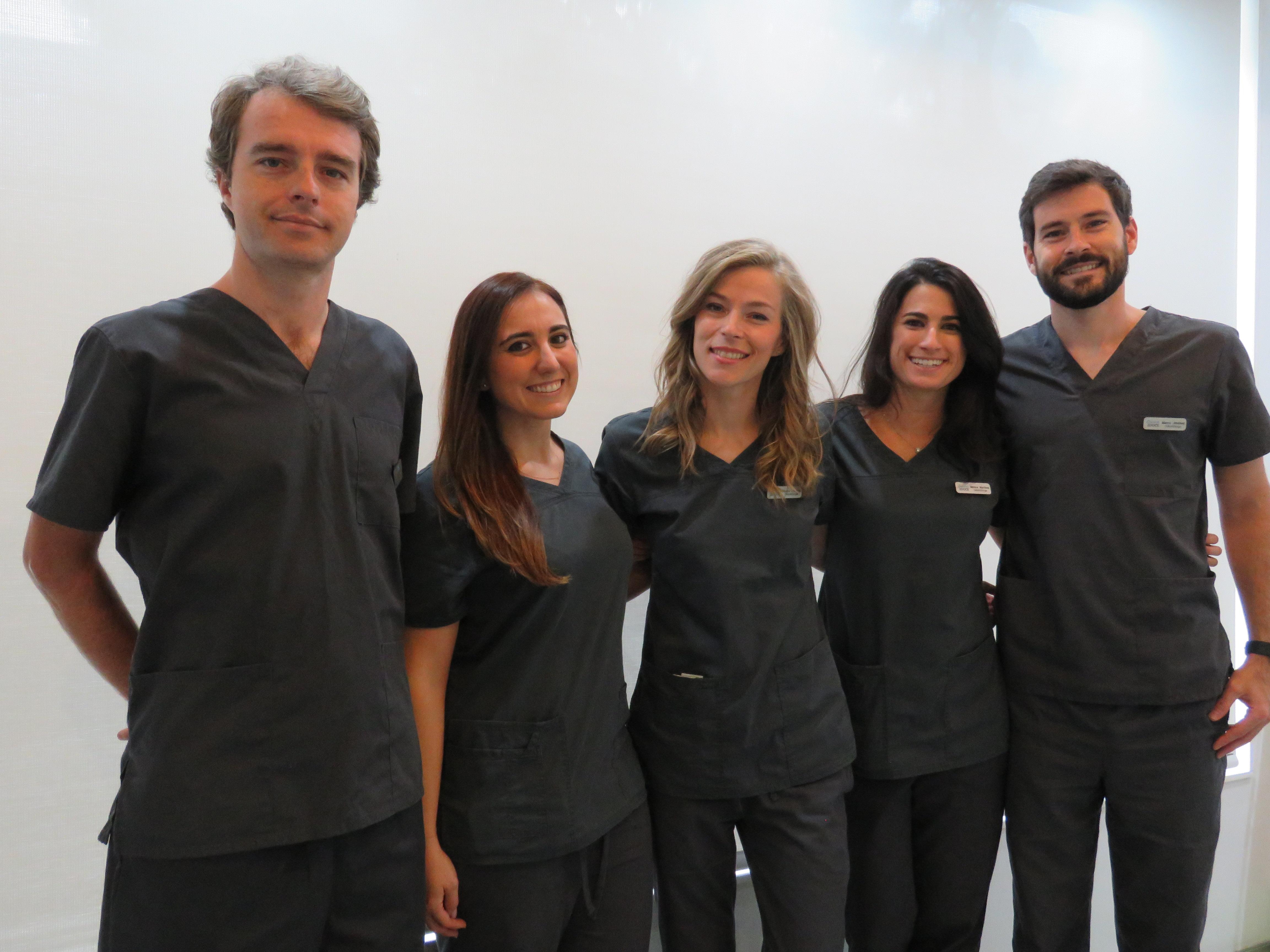 Equipo dentistas 2Doce Madrid