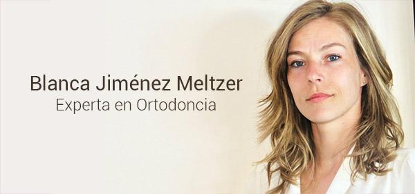 Blanca Jimenez Experta en Ortodoncia
